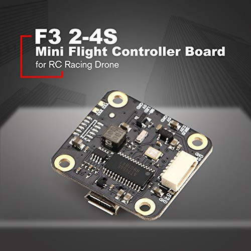 Wikiwand F3 2-4S Mini Flight Controller Board BetaFlight OSD BEC for RC Racing Drone by Wikiwand (Image #2)