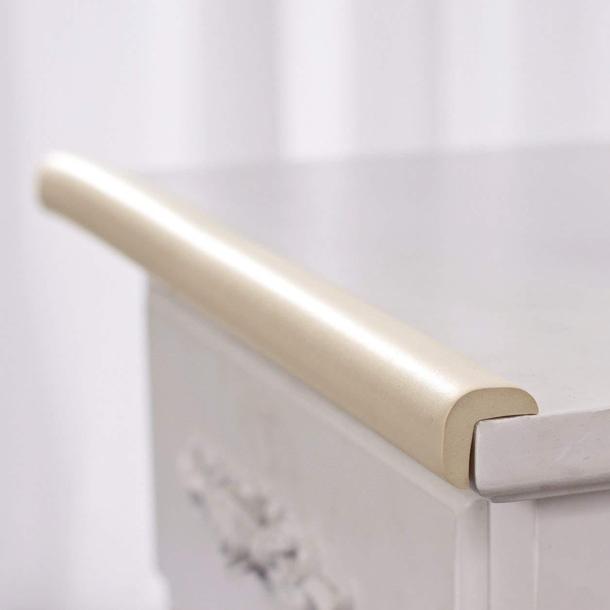 Dailyinshop Spessore del Bordo del Tavolo Protezione per la scrivania Protezione per la scrivania Rullo per la Sicurezza del Bambino Colore: Beige