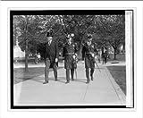 Historic Print (L): Wilbur, Adml. Wilson, Lt. Com. Edwards, 5/12/24