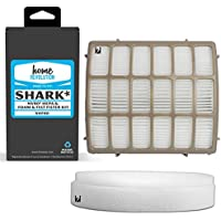 Home Revolution Replacement Filter Kit, Fits Shark Navigator Lift-Away NV70, NV80, UV420 Vacuums and Part XFF80 & XHF80 (1 HEPA + 1 Foam & Felt)