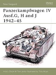 Panzerkampfwagen IV Ausf G, H and J 1942-1945 (Osprey New Vanguard)