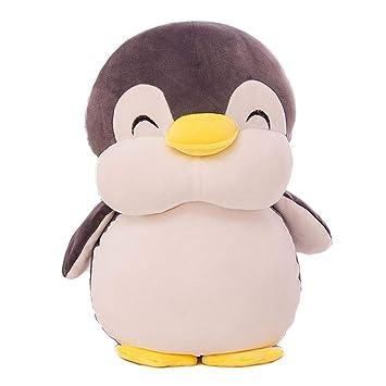 Muñeco pingüino Juguete de Peluche Almohada, Peluche de Peluche Suave decoración del hogar, niños tranquilos durmiendo Regalo de cumpleaños para el día de ...