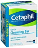 Cetaphil Cleansing Bar, 4.5 oz, 3 Count