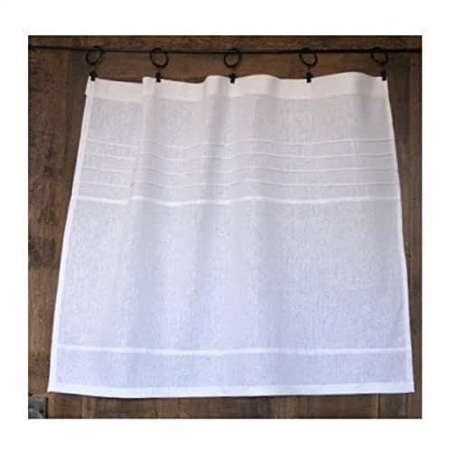 Amazon.com: Custom Kitchen Cafe Curtain White French Linen