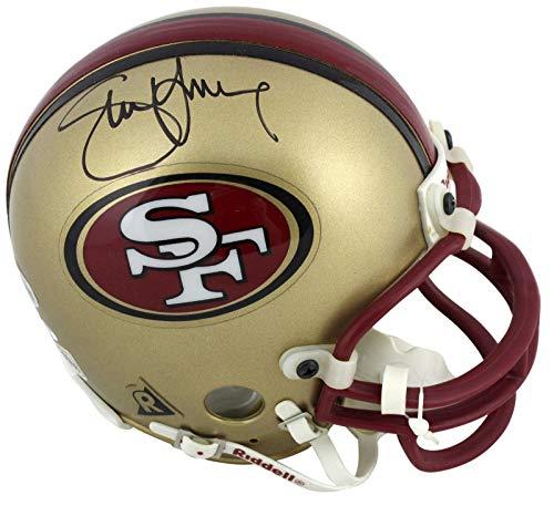 Young Mini Helmet - Signed Steve Young Mini Helmet - Vintage Replica BAS #H83532 - Beckett Authentication - Autographed NFL Mini Helmets