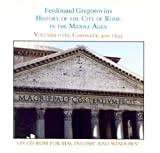 History of the City of Rome in the Middle Ages, Ferdinand Gregorovius, 0934977968