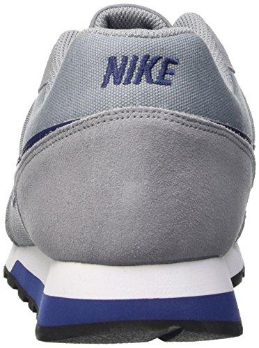 Nike Md Runner 2, Zapatillas de Running para Hombre Gris (Grey (Stealth/Lyl Bl-Ttl Crmsn-White))