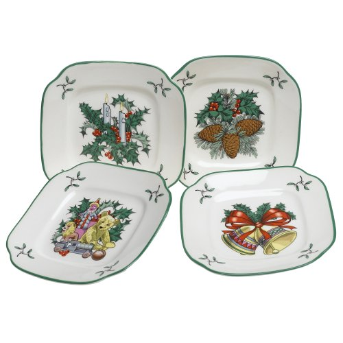 Parker 39 s post on amazon usa marketplace pulse for Christmas canape plates