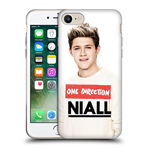 Official One Direction Close Up Niall Horan Photo Soft Gel Case for Apple iPhone 7 / iPhone 8