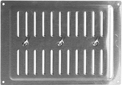90 mm Paravento griglia in acciaio inox 260 mm