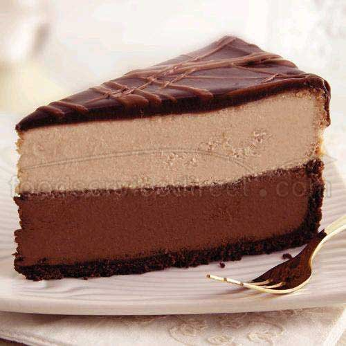 - Sweet Street Triple Chocolate Cheesecake, 14 Slice -- 2 per case.
