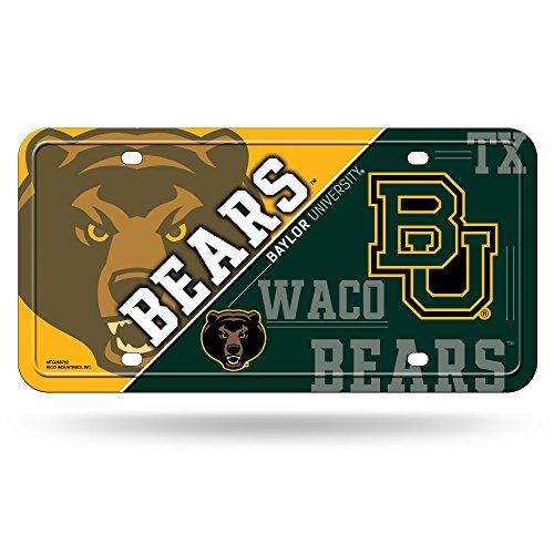 rs Metal License Plate Tag (Bears Ncaa Basketball)