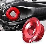 Keenso-Bullone-per-pedivella-da-Bicicletta-in-Lega-di-Alluminio-per-590-596-XT-XTR-SLX-Red