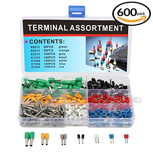 elsky-600pcs-insulated-crimp-terminals-connector-kit-cord-pin-end-terminal-set-10-22-awg-cable-crimp