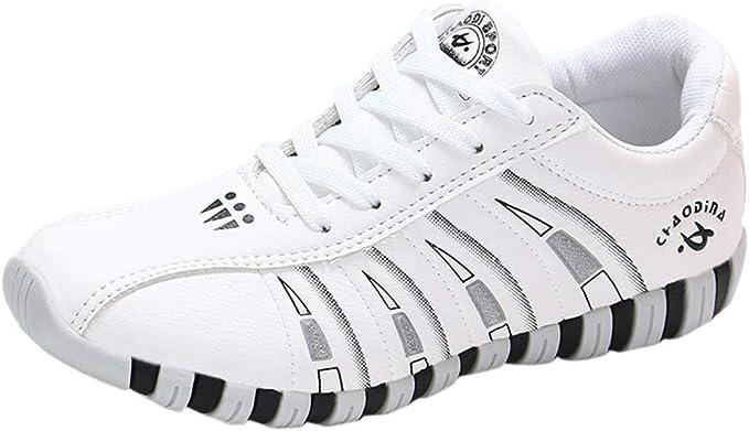 RYTEJFES Zapatos para Caminar De Señoras De Moda Calzado De Senderismo Transpirables Zapatillas Casuales Planos Zapatos Deportivos Ocasionales Cómodos Salvajes Zapatos para Caminar: Amazon.es: Hogar