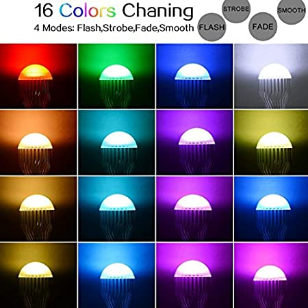 Amazon.com: DingXW RGB LED Lamp 10W 85-265V E14 LED RGB Bulb Light Led Soptlight Remote Control 16 Colors Changeable Lamparas (Weight : 10W): Sports & ...