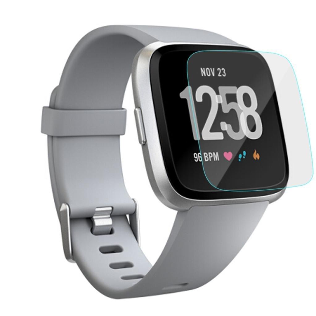 Sannysis Fitbit Versa Protector para Fitbit Versa smartwatch, Película de Protector de Pantalla LCD para Reloj Fitbit Versa