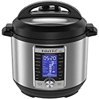 Instant Pot Ultra Electric Pressure Cooker, 6Qt 10-in-1, Stainless Steel