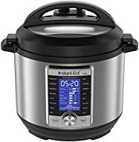 Instant Pot Ultra Electric Pressure Cooker, 6Qt 10-in-1, Stainless Steel (2017 Model)