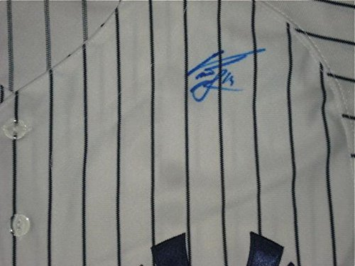 Curtis Granderson Autographed Jersey (yankees) W/Proof - Autographed MLB Jerseys