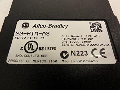 Allen Bradley 20-HIM-A3 PowerFlex Full Numeric LCD Keypad 12VDC 140mA ! NEW !