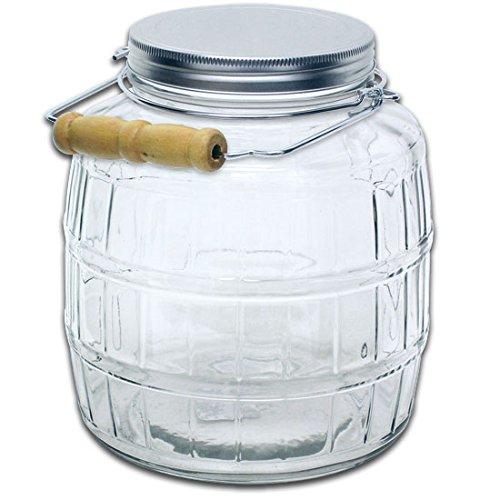 truecraftware-1-gallon-glass-barrel-jar-with-lid-and-handle