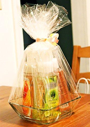Amazon Com Huji 40 Inch 100 Ft Clear Cellophane Gift Wrap