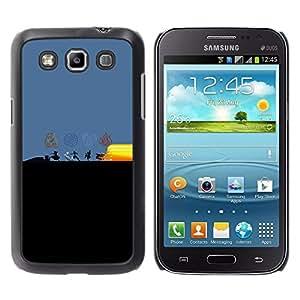 EJOY---Cubierta de la caja de protección la piel dura para el / Samsung Galaxy Win I8550 / --Dobladora de aire Elementos