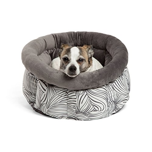 Disney Cuddle Cup in Minnie Bows, Graphite (Dog / Cat Bed)