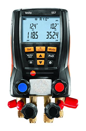 testo 557 - Digital Manifold Set (Bluetooth) (without sight glass)