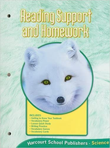 Harcourt Science: Reading Support and Homework Grade 1: HARCOURT ...