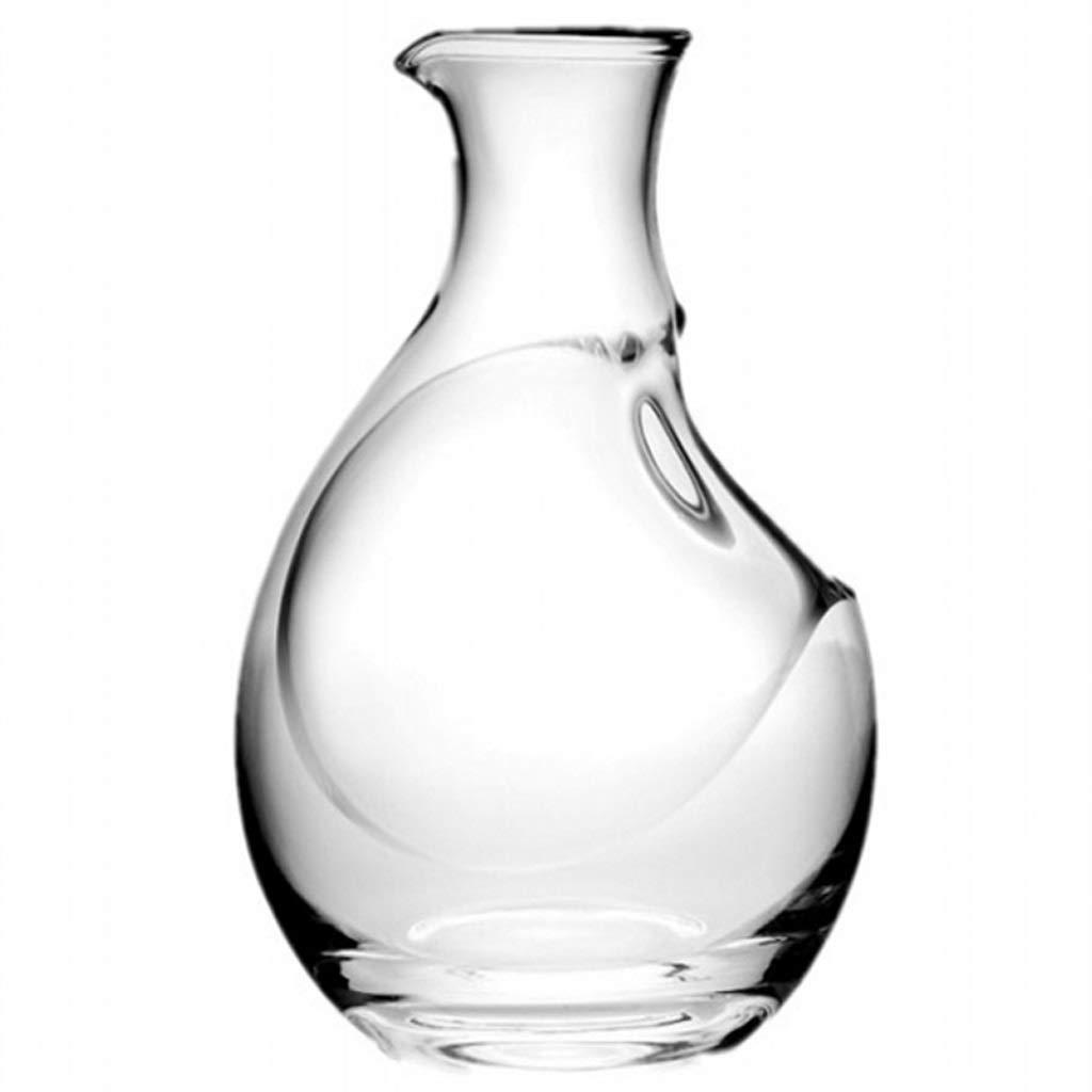 クリスタルガラスワインデカンタウイスキーワイン注ぐフィルターギフト愛好家のお気に入り400ミリリットル B07QKKFH7T