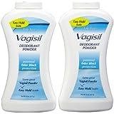 Vagisil Feminine Deodorant Powder, 2 pk