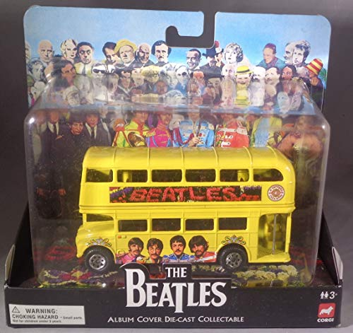 The Beatles - Sgt. Peppers Lonely Hearts Club Band - Album Cover Die-Cast Collectable - Routemaster Bus
