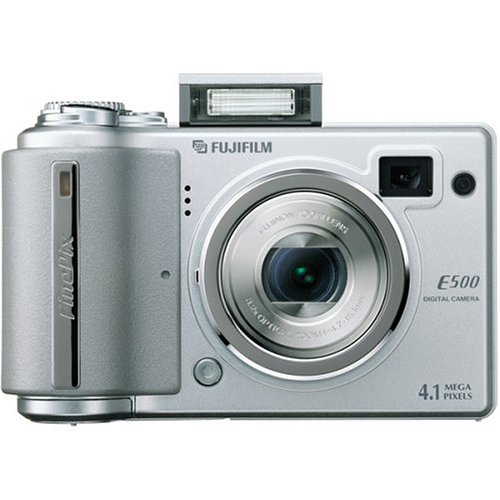 Cheap Fujifilm Finepix E500 4MP Digital Camera with 3.2x Optical Zoom