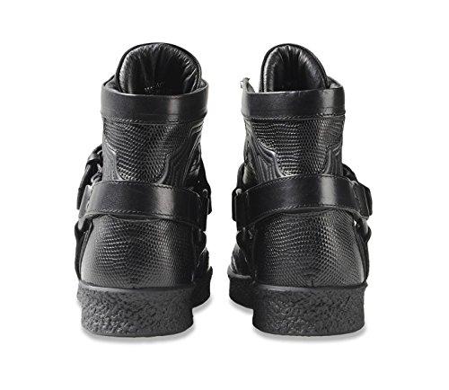 Diesel Black Gold Damen Hi HIgh Top Leder Sneaker Schuhe Stiefel