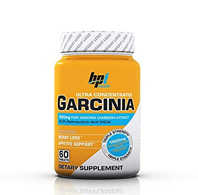 BPI Sports Ultra Concentrated Garcinia Cambogia, 60 Count