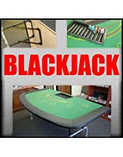 Large 82 Inch 7-Player Blackjack Table