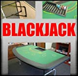 Large 82 Inch 7-Player Blackjack Table