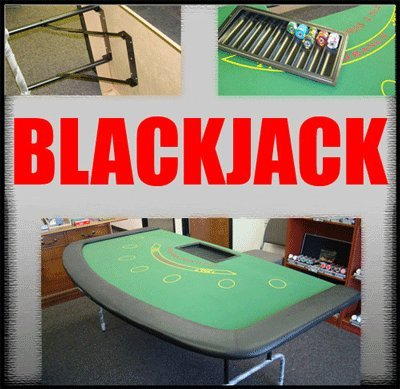 Large 82 Inch 7-Player Blackjack Table by tm poker