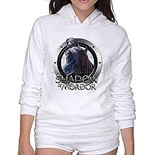 Middle Earth Shadow Of Mordor Hoodies Crew Neck Woman Hoodie Sweatshirt L
