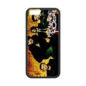 LISHUANGSHUANG Phone case Style-1 -Music Band My Chemical ROMANCE Pattern Protective Case For Apple Iphone 6 Plus