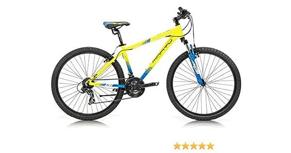 Monty KY8 Bicicleta, Unisex Adulto, Amarillo, XS: Amazon.es: Deportes y aire libre