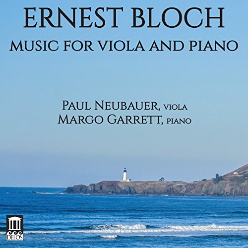 CD : PAUL NEUBAUER - MARGO GARRETT - Music For Viola & Piano (CD)