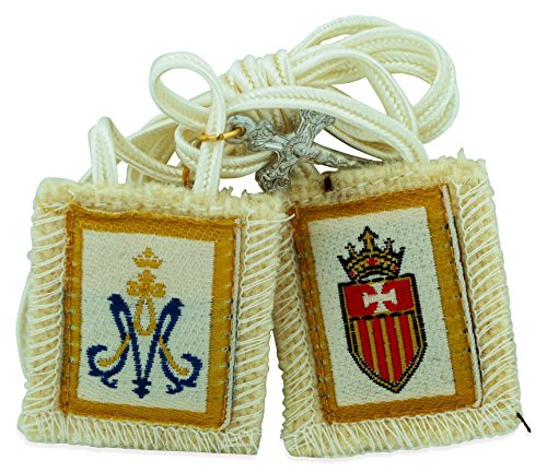 Venerare Authentic Catholic Scapular - 100% Wool (Our Lady of Mercy ()