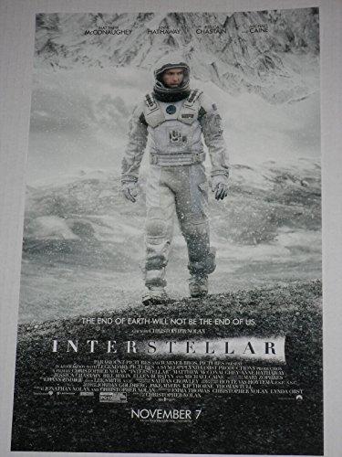 Interstellar 11x17 Inch Promo Movie Poster
