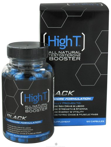 High T Black All Natural Testosterone Booster 120 Caps