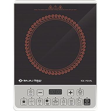 Bajaj ICX Pearl 1900-Watt Induction Cooker (Black) 5