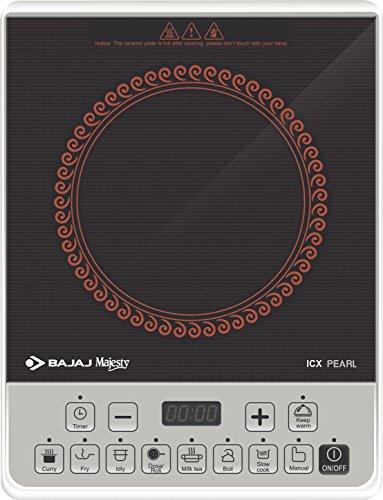 Bajaj ICX Pearl 1900-Watt Induction Cooker (Black) 1