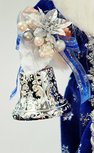 16 Quot Inch Standing Royal Blue Santa Claus Christmas